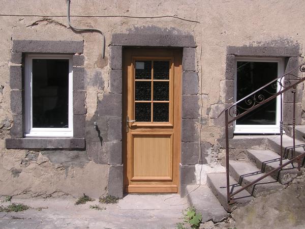 Porte bois vitree d 39 interieur images for Porte entree bois